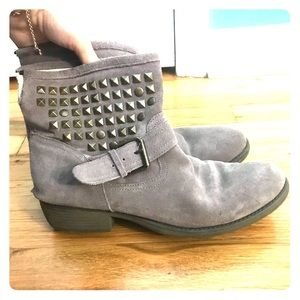 Steve Madden Studded Ankle Booties